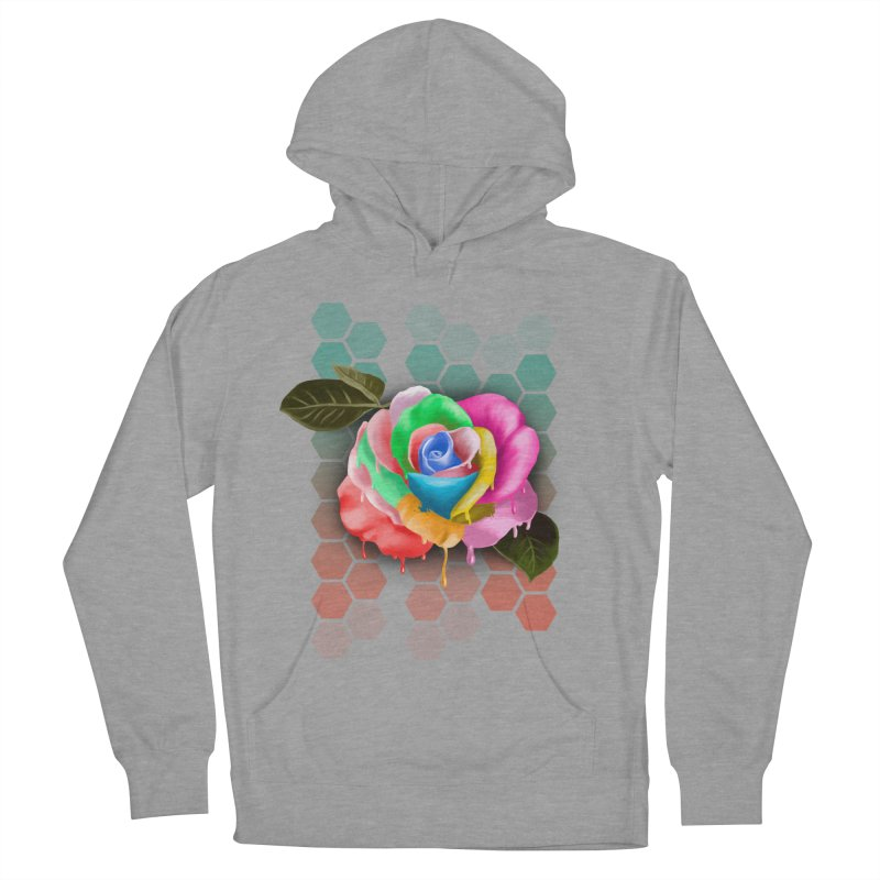 Rose_colors Women's Pullover Hoody by gabifaveri's Artist Shop
