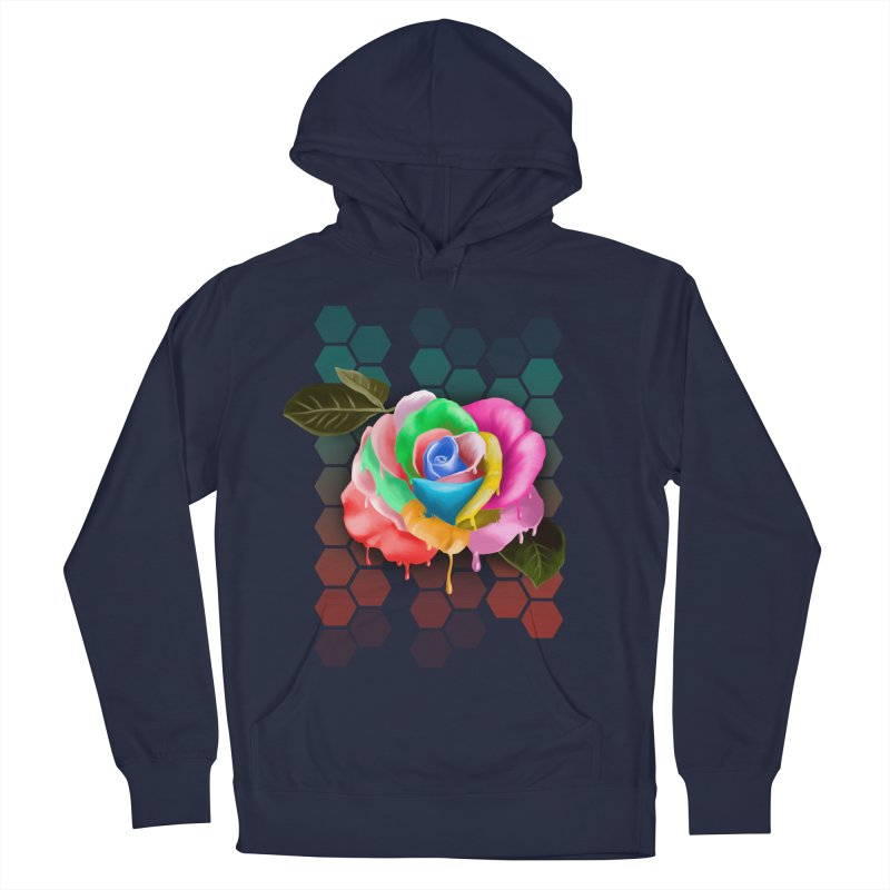 Rose_colors Women's French Terry Pullover Hoody by gabifaveri's Artist Shop