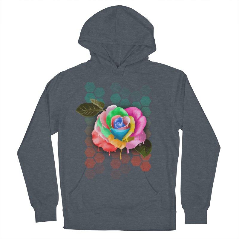 Rose_colors Men's Pullover Hoody by gabifaveri's Artist Shop