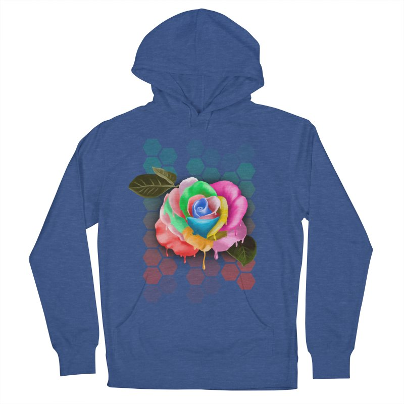 Rose_colors Men's Pullover Hoody by gabifaveri's Artist Shop