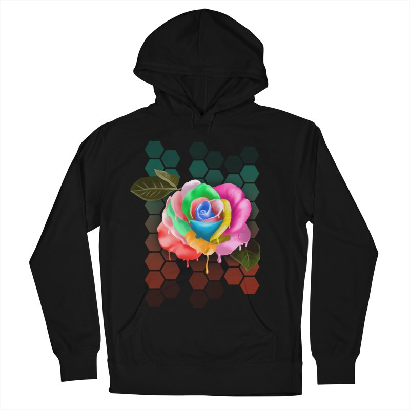 Rose_colors Men's French Terry Pullover Hoody by gabifaveri's Artist Shop