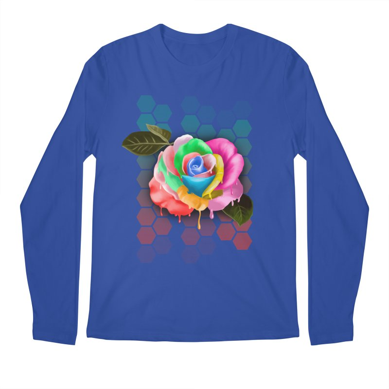 Rose_colors Men's Regular Longsleeve T-Shirt by gabifaveri's Artist Shop