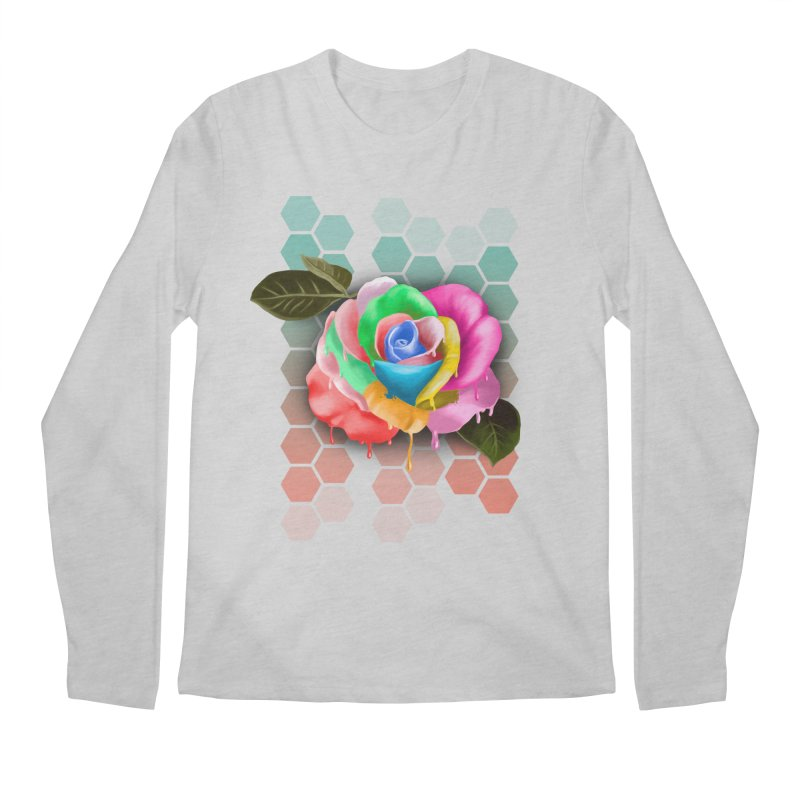 Rose_colors Men's Longsleeve T-Shirt by gabifaveri's Artist Shop