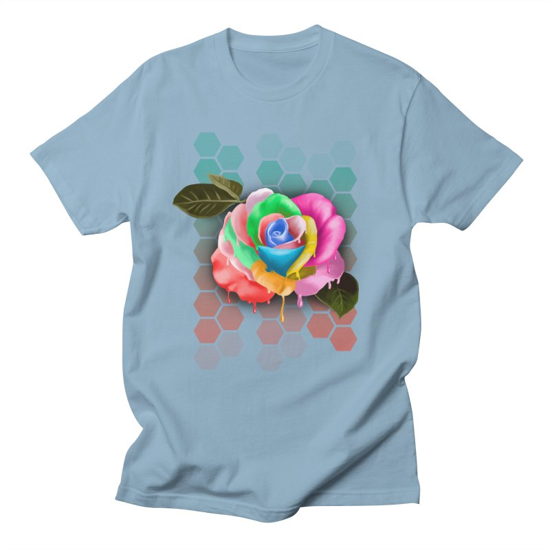 Rose_colors Men's Regular T-Shirt by gabifaveri's Artist Shop