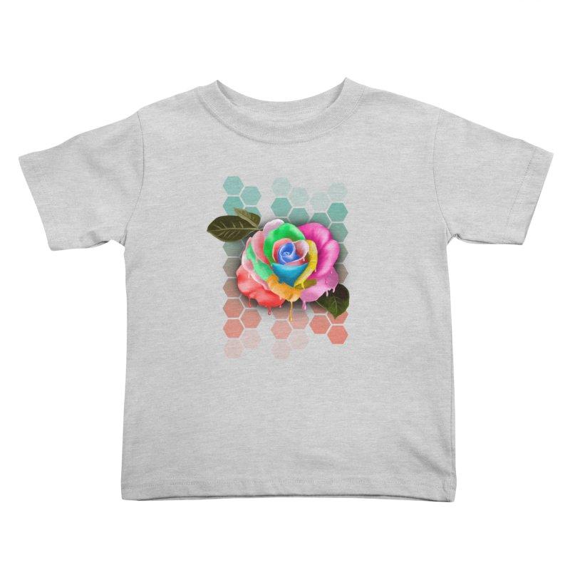 Rose_colors Kids Toddler T-Shirt by gabifaveri's Artist Shop