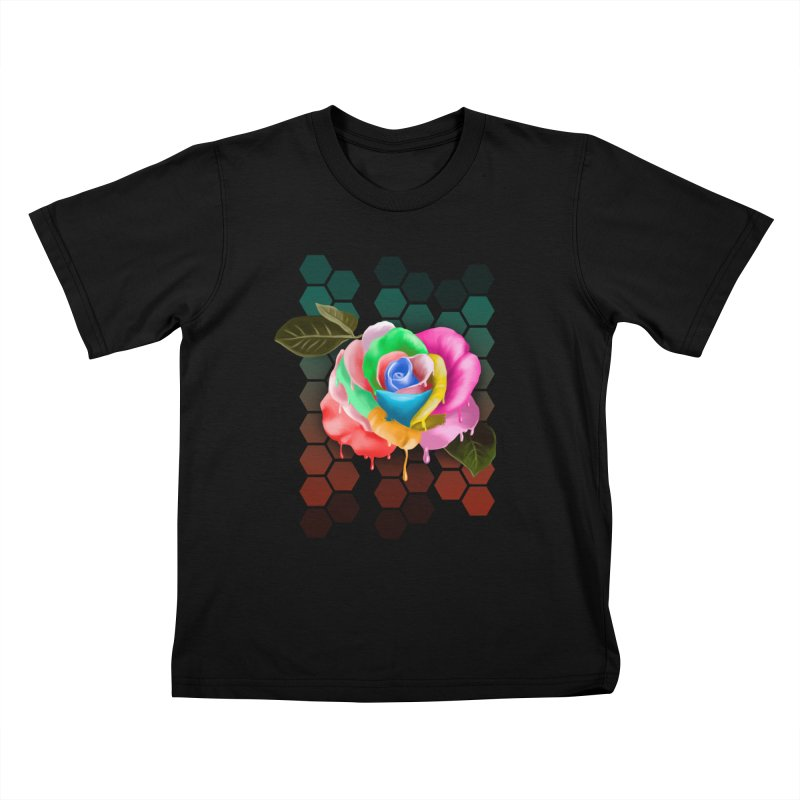 Rose_colors Kids T-Shirt by gabifaveri's Artist Shop