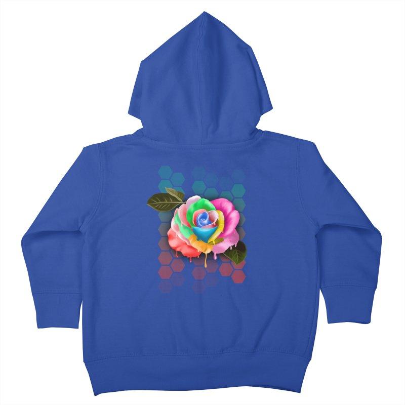 Rose_colors Kids Toddler Zip-Up Hoody by gabifaveri's Artist Shop