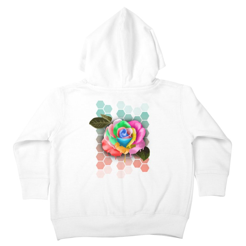 Rose_colors Kids Toddler Zip-Up Hoody by gabifaveri's Artist Shop
