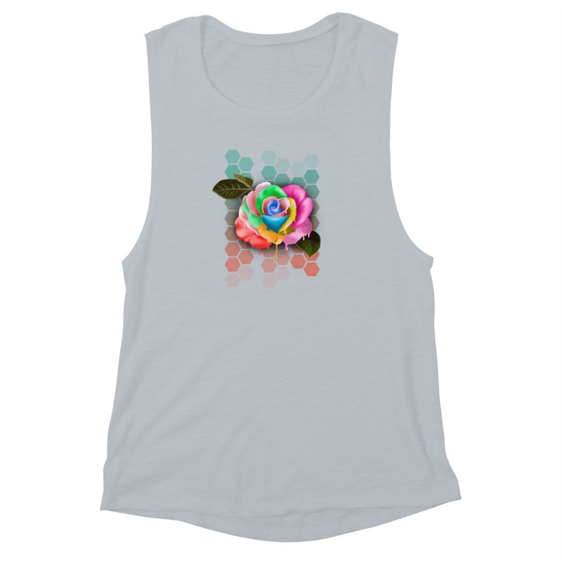 Rose_colors Women's Muscle Tank by gabifaveri's Artist Shop