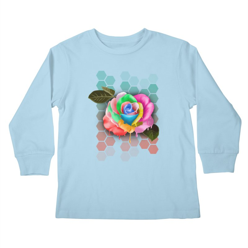 Rose_colors Kids Longsleeve T-Shirt by gabifaveri's Artist Shop