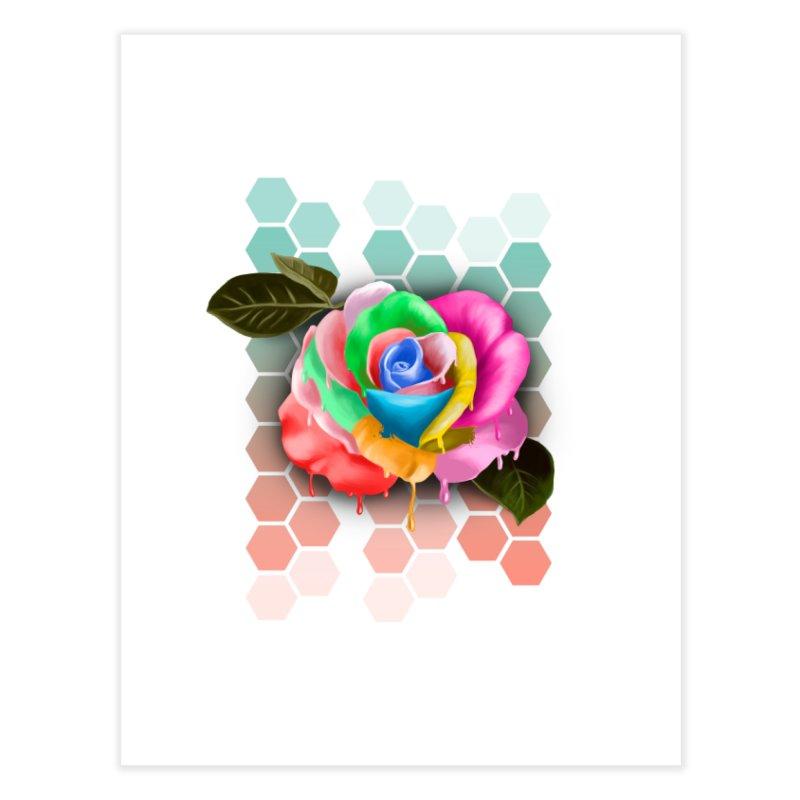Rose_colors Home Fine Art Print by gabifaveri's Artist Shop