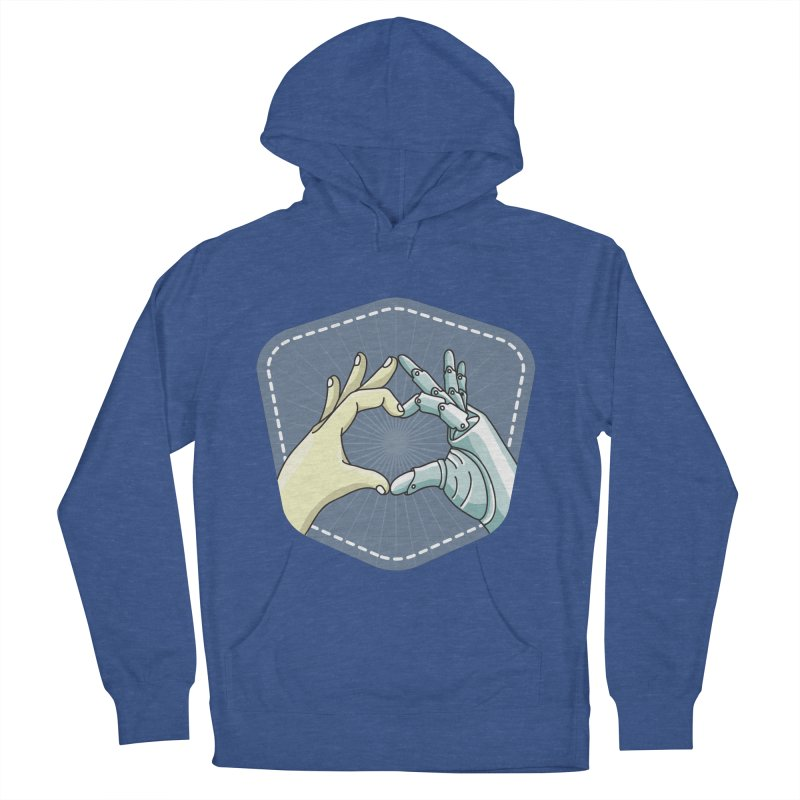 prostheses_hand Men's French Terry Pullover Hoody by gabifaveri's Artist Shop