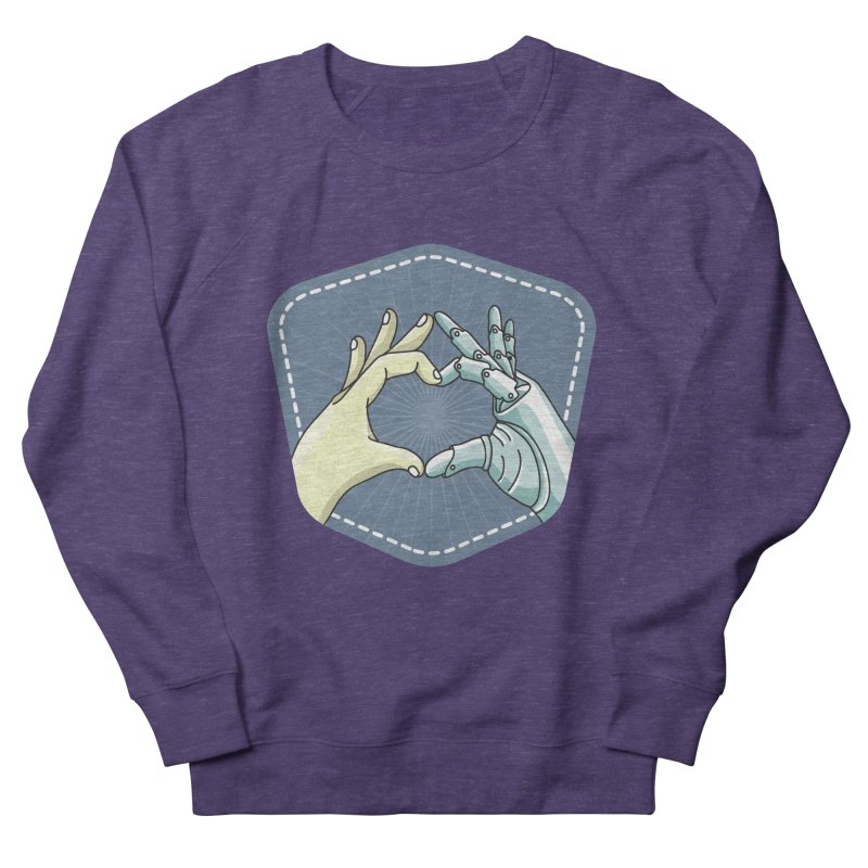 prostheses_hand Women's French Terry Sweatshirt by gabifaveri's Artist Shop