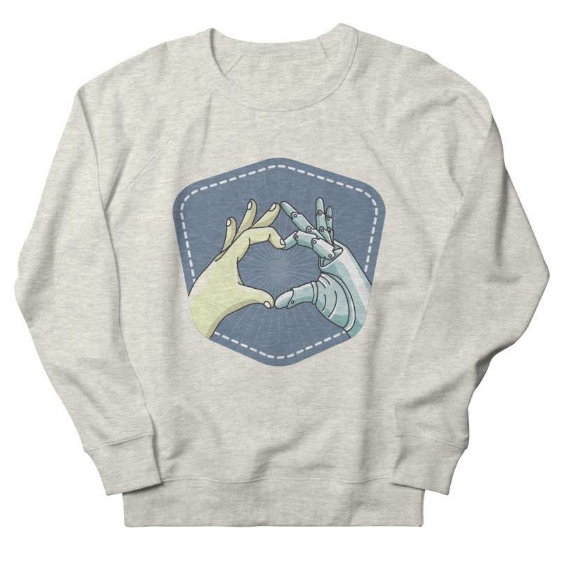 prostheses_hand Women's French Terry Sweatshirt by gabifaveri's Artist Shop