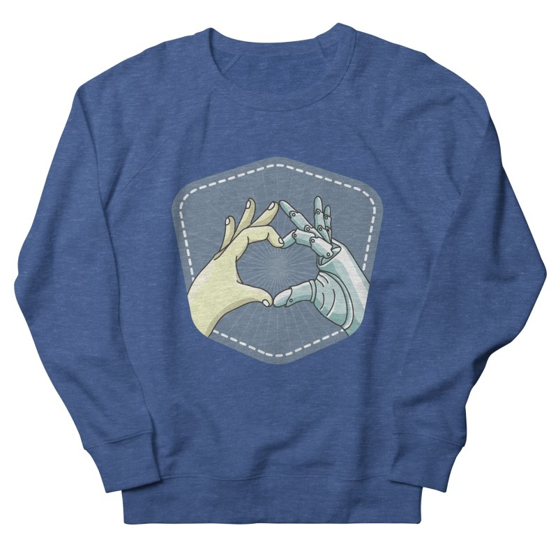 prostheses_hand Men's French Terry Sweatshirt by gabifaveri's Artist Shop