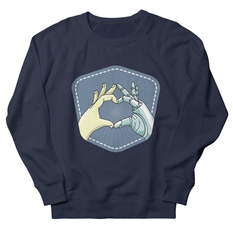 prostheses_hand Men's French Terry Sweatshirt by gabifaveri's Artist Shop