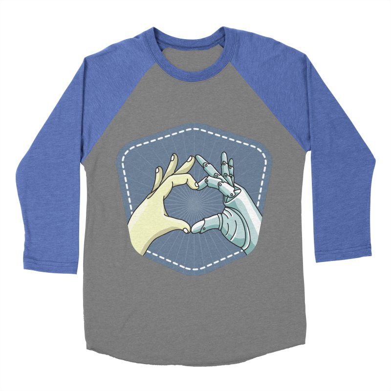 prostheses_hand Women's Baseball Triblend Longsleeve T-Shirt by gabifaveri's Artist Shop