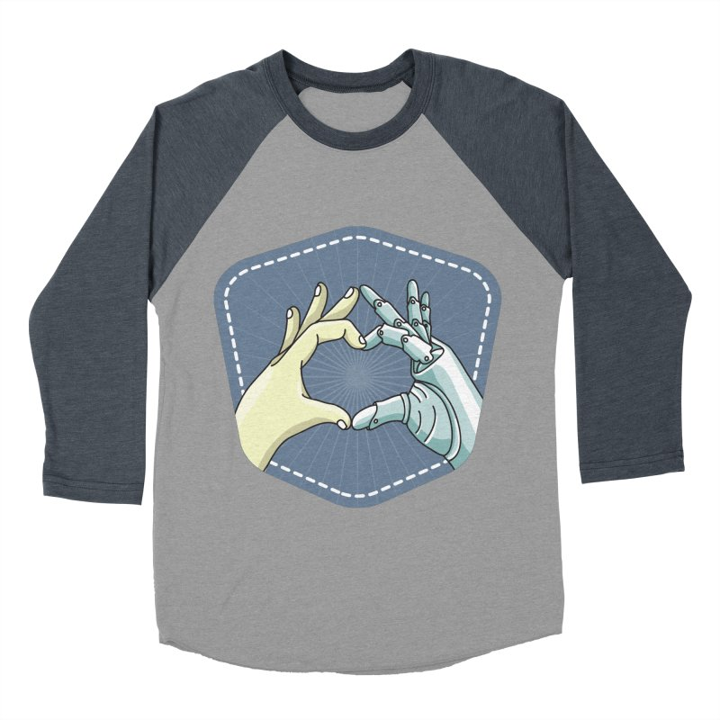prostheses_hand Women's Baseball Triblend T-Shirt by gabifaveri's Artist Shop