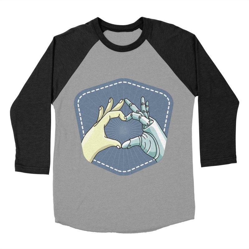 prostheses_hand Men's Baseball Triblend Longsleeve T-Shirt by gabifaveri's Artist Shop