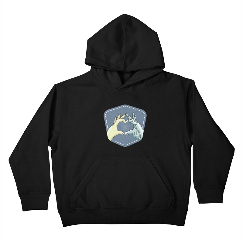 prostheses_hand Kids Pullover Hoody by gabifaveri's Artist Shop
