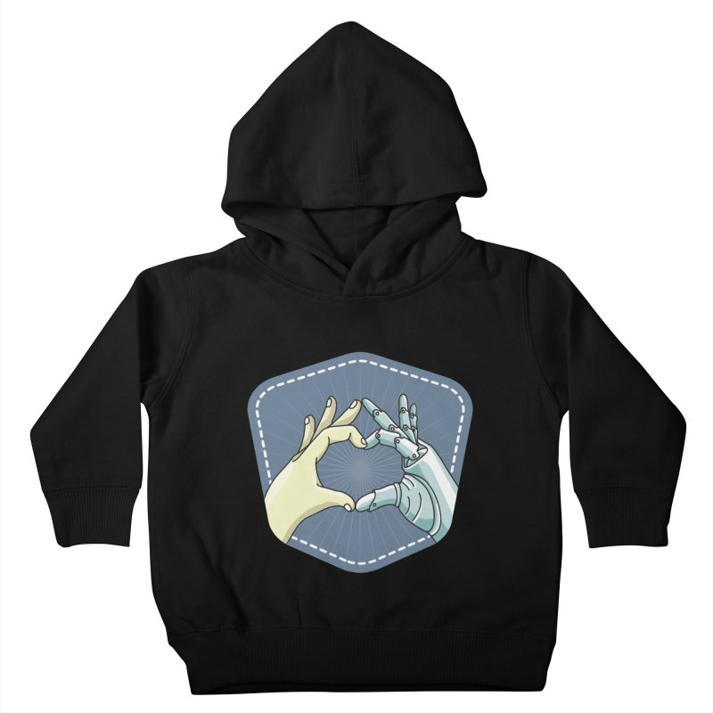prostheses_hand Kids Toddler Pullover Hoody by gabifaveri's Artist Shop