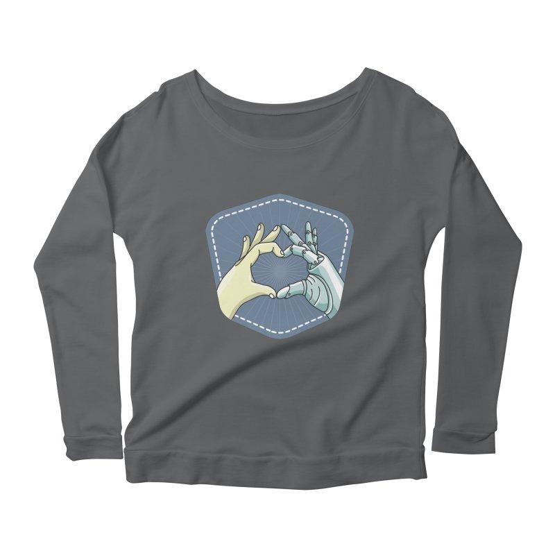prostheses_hand Women's Scoop Neck Longsleeve T-Shirt by gabifaveri's Artist Shop