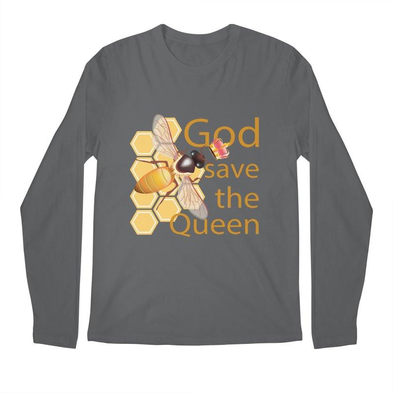 God Save the Queen Men's Longsleeve T-Shirt by gabifaveri's Artist Shop