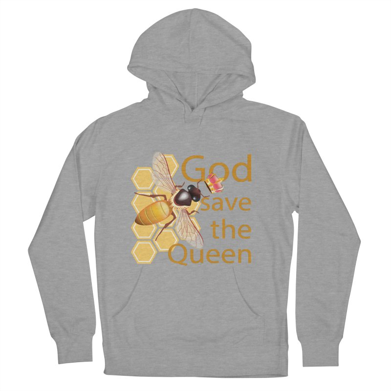 God Save the Queen Men's French Terry Pullover Hoody by gabifaveri's Artist Shop