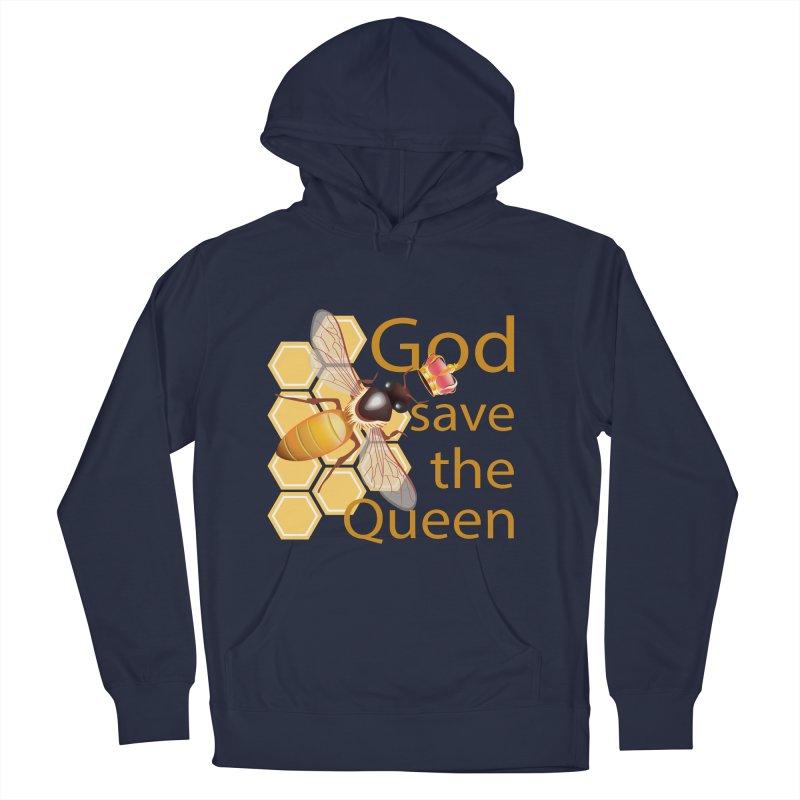 God Save the Queen Men's Pullover Hoody by gabifaveri's Artist Shop