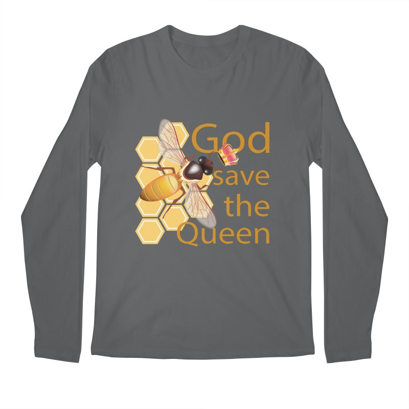 God Save the Queen Men's Regular Longsleeve T-Shirt by gabifaveri's Artist Shop