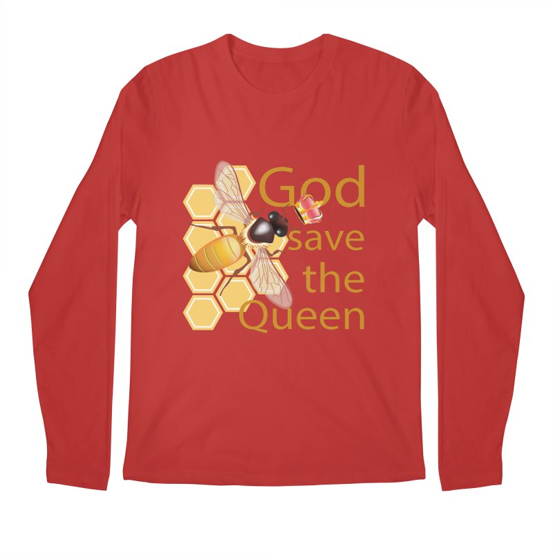 God Save the Queen Men's Longsleeve T-Shirt by gabifaveri's Artist Shop