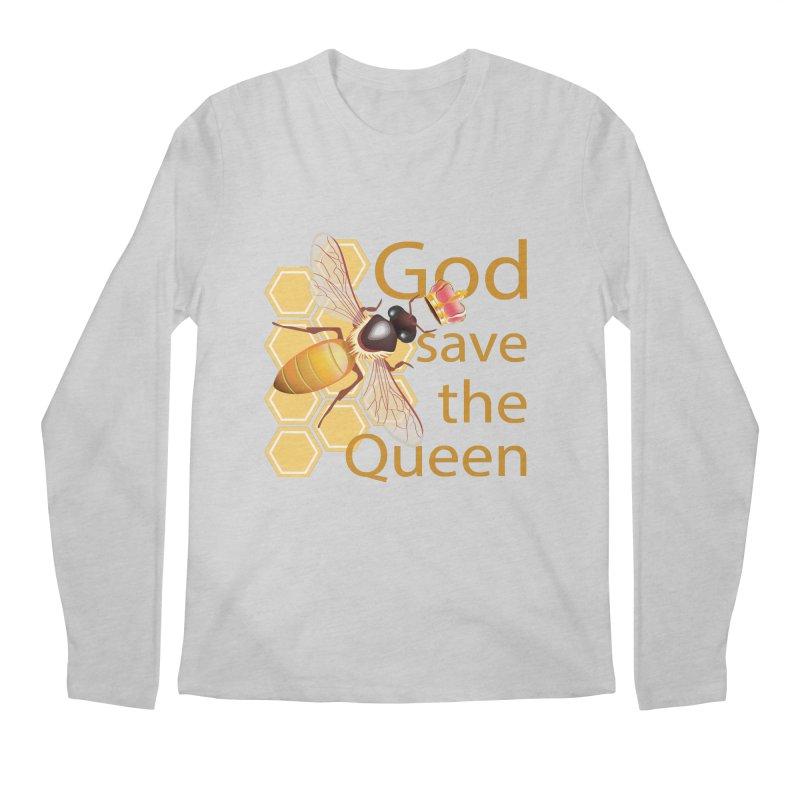God Save the Queen Men's Regular Longsleeve T-Shirt by gabifaveri's Artist Shop