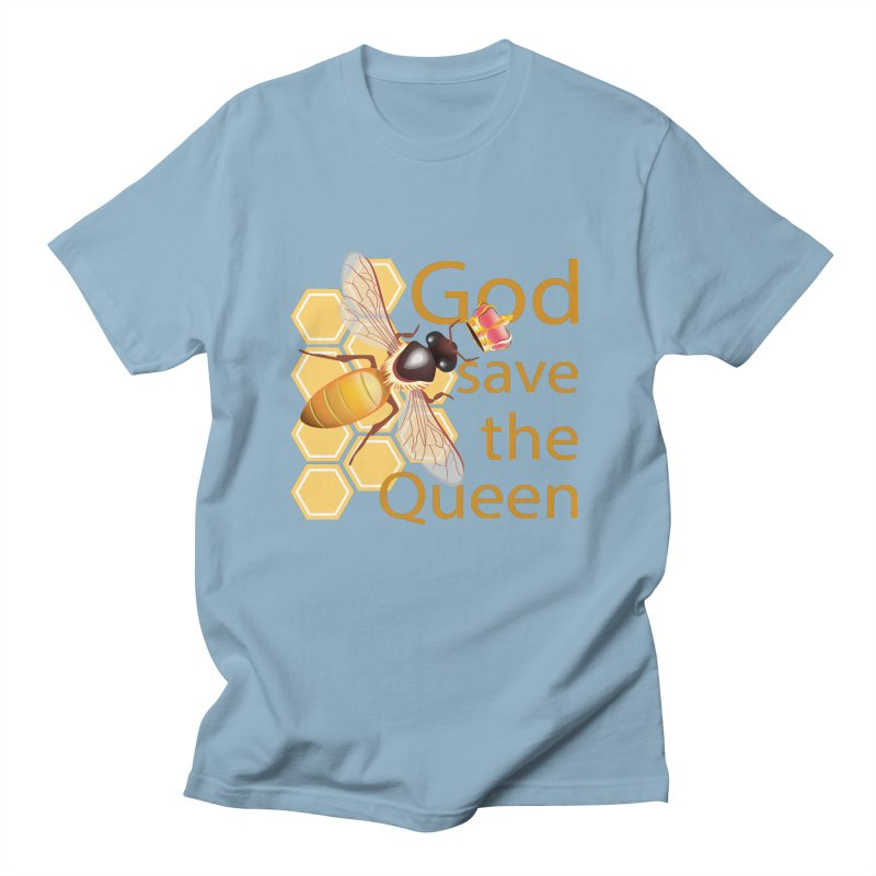 God Save the Queen Men's Regular T-Shirt by gabifaveri's Artist Shop