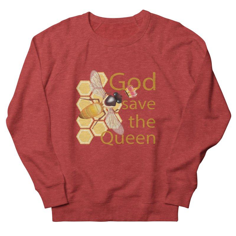 God Save the Queen Women's French Terry Sweatshirt by gabifaveri's Artist Shop