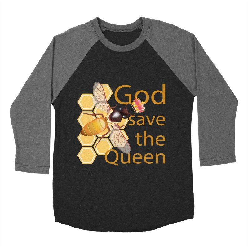God Save the Queen Women's Baseball Triblend Longsleeve T-Shirt by gabifaveri's Artist Shop
