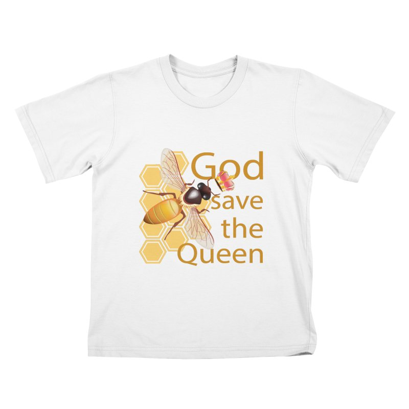 God Save the Queen Kids T-Shirt by gabifaveri's Artist Shop