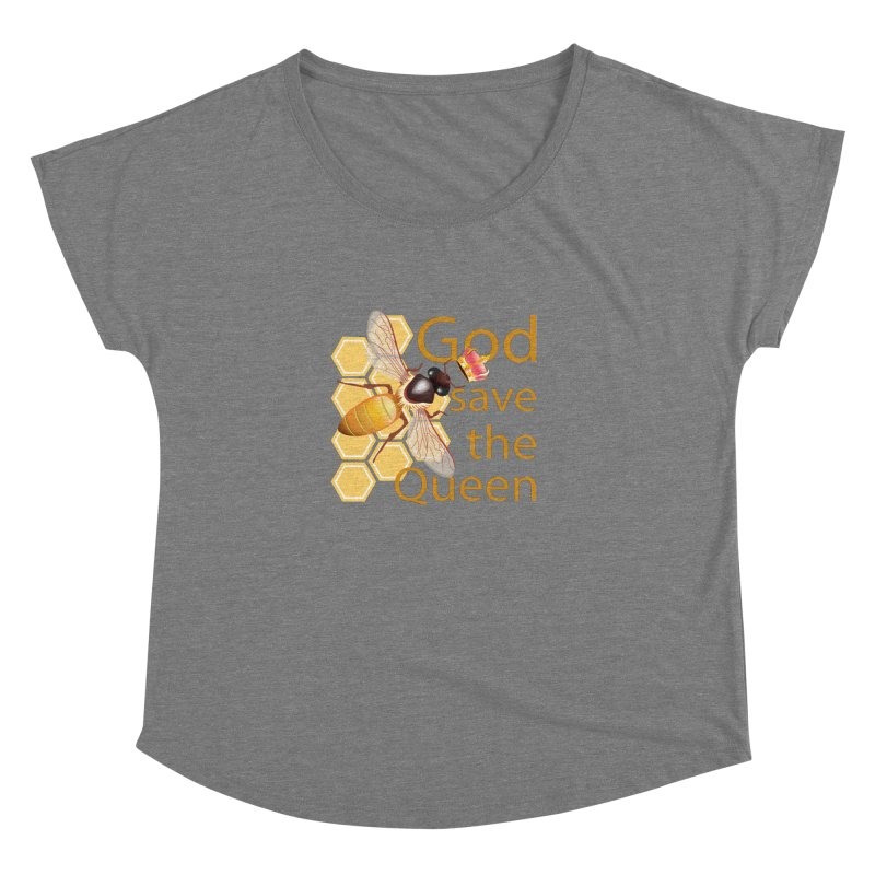 God Save the Queen Women's Scoop Neck by gabifaveri's Artist Shop