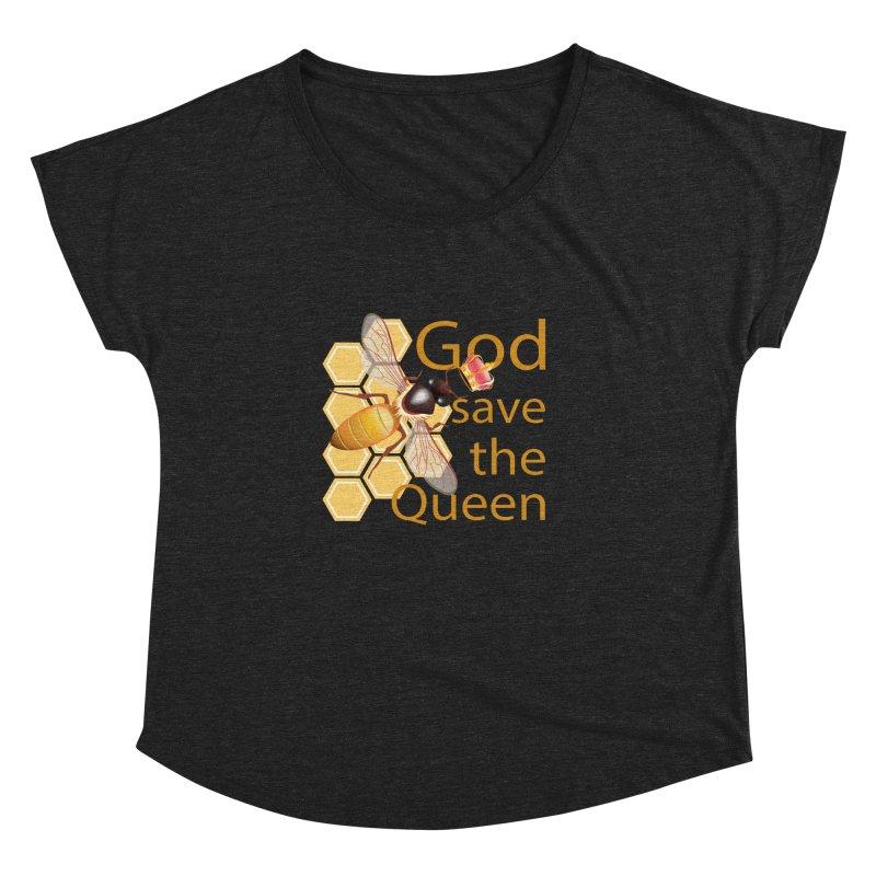 God Save the Queen Women's Dolman by gabifaveri's Artist Shop