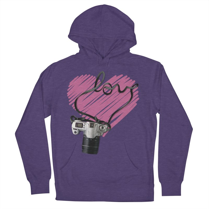 camera Love Men's Pullover Hoody by gabifaveri's Artist Shop