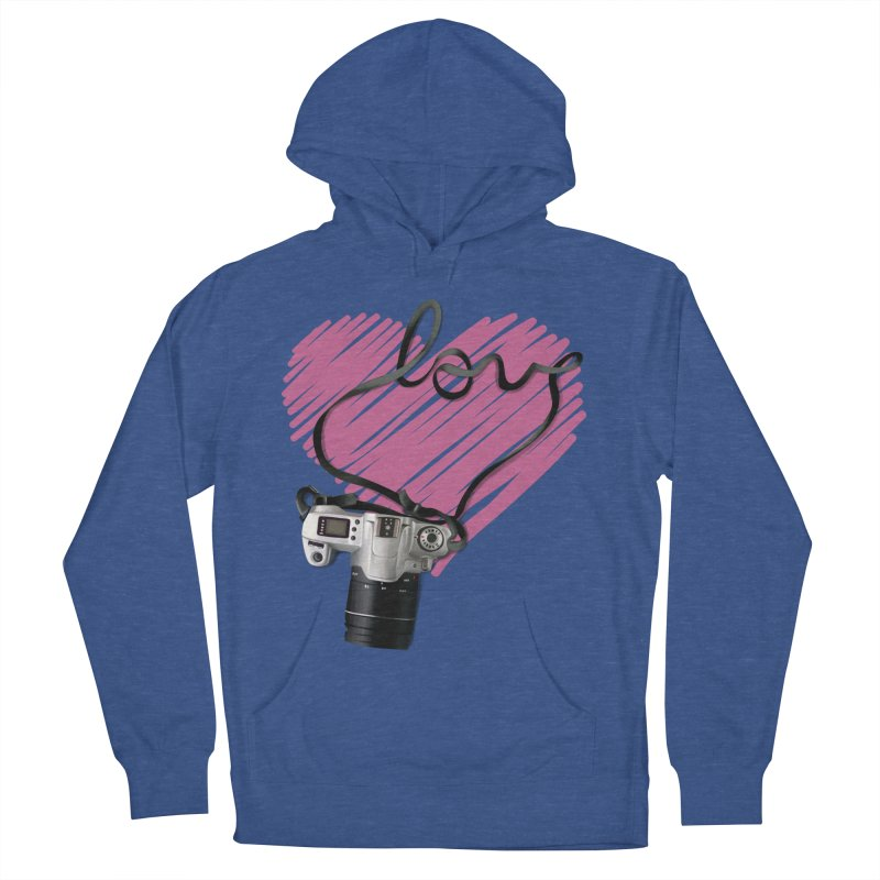 camera Love Men's French Terry Pullover Hoody by gabifaveri's Artist Shop