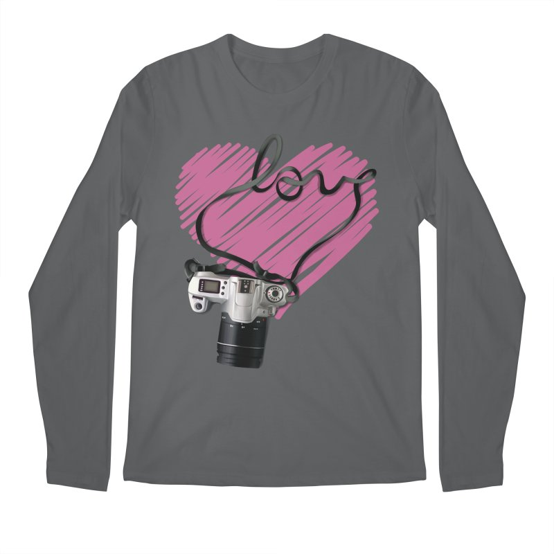camera Love Men's Regular Longsleeve T-Shirt by gabifaveri's Artist Shop