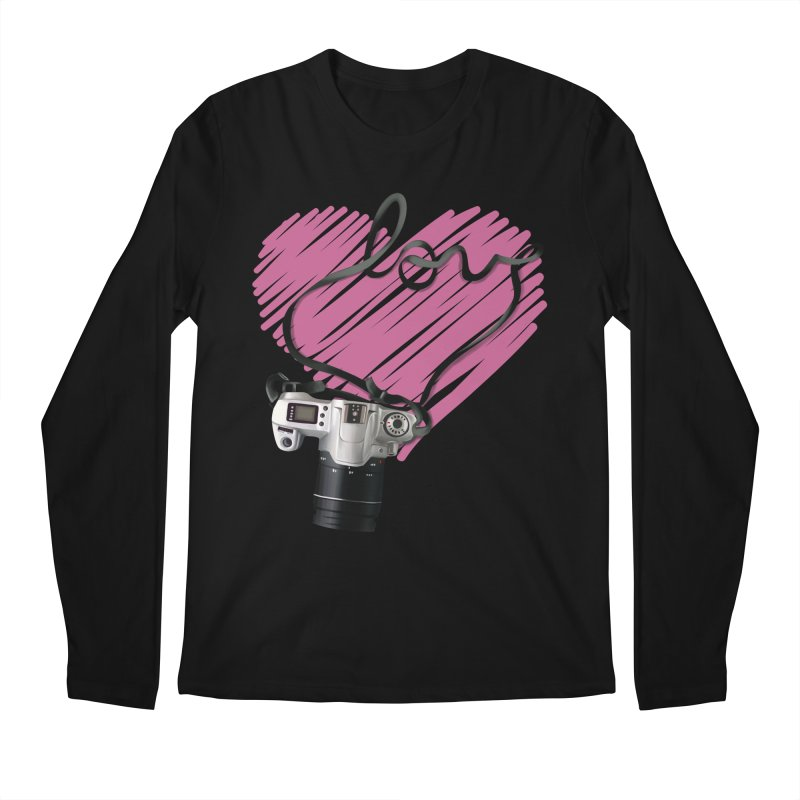 camera Love Men's Longsleeve T-Shirt by gabifaveri's Artist Shop