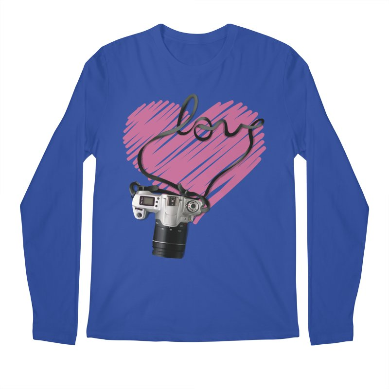 camera Love Men's Regular Longsleeve T-Shirt by gabifaveri's Artist Shop