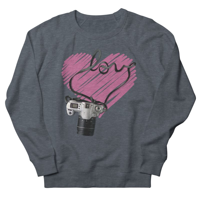 camera Love Women's French Terry Sweatshirt by gabifaveri's Artist Shop