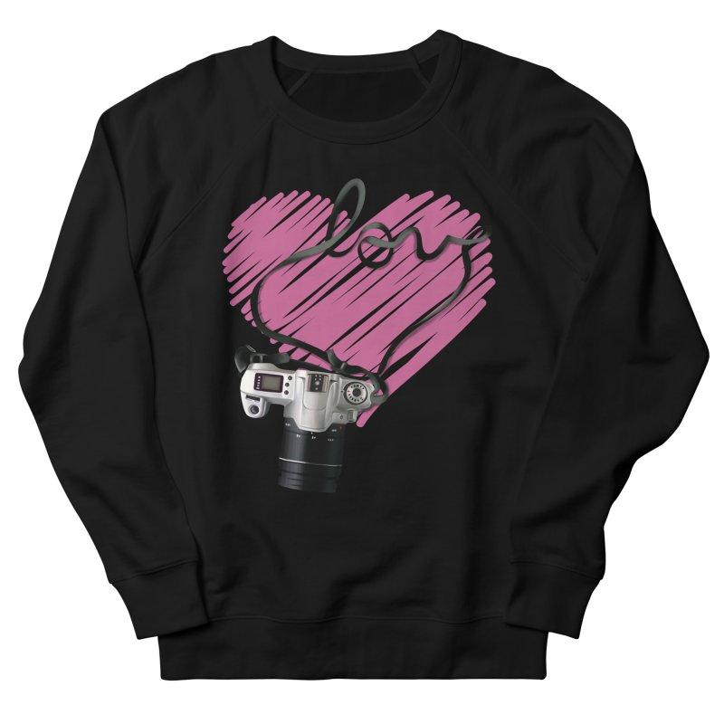 camera Love Women's French Terry Sweatshirt by gabifaveri's Artist Shop