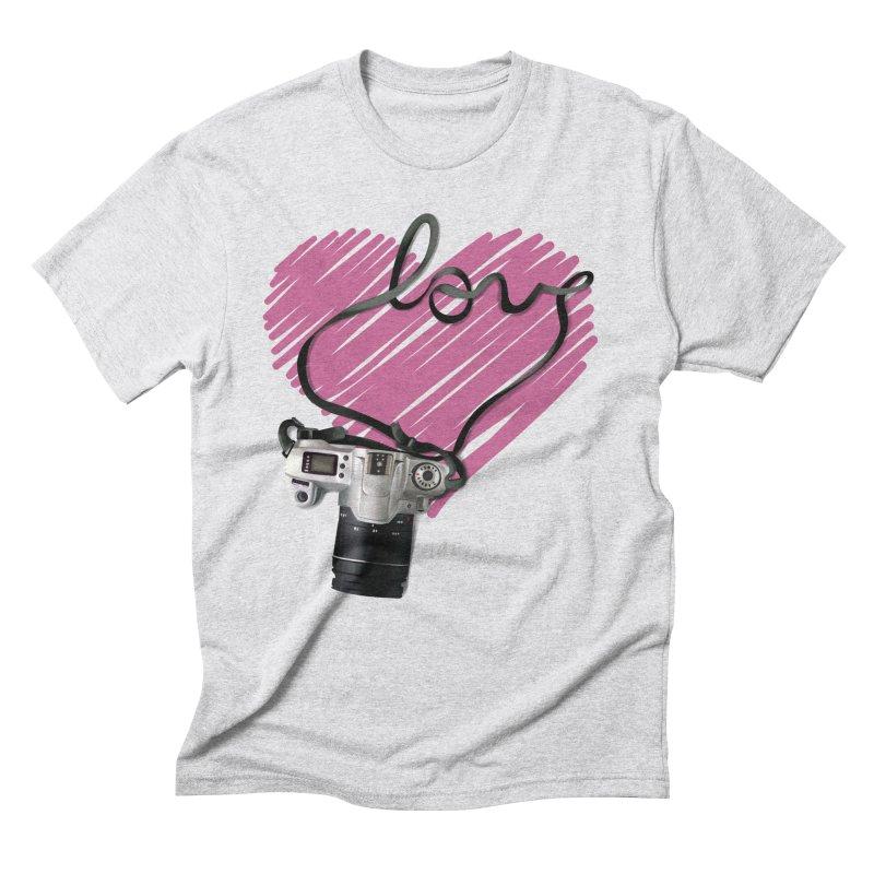 camera Love Men's Triblend T-Shirt by gabifaveri's Artist Shop