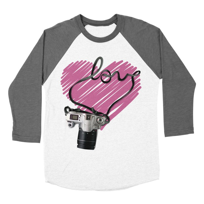 camera Love Women's Baseball Triblend Longsleeve T-Shirt by gabifaveri's Artist Shop