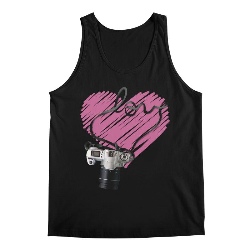 camera Love Men's Regular Tank by gabifaveri's Artist Shop