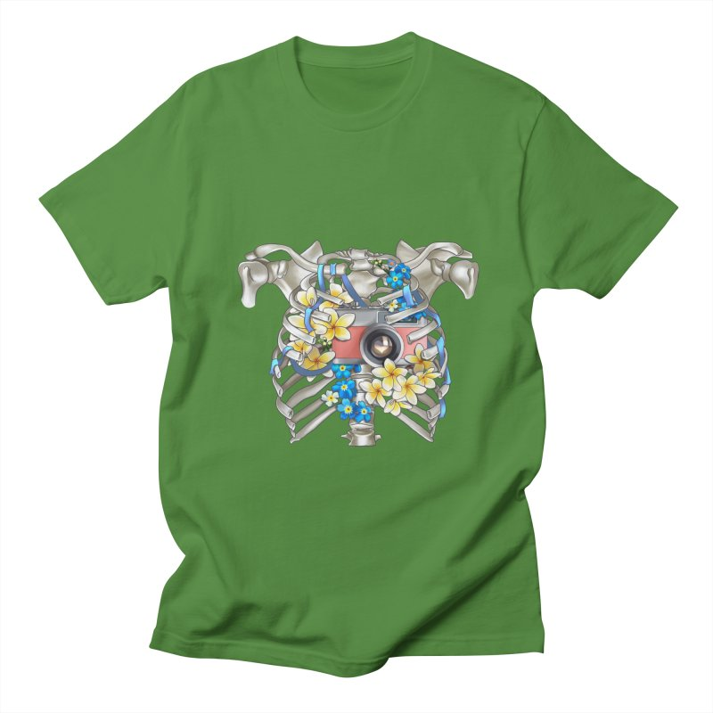 Skeleton_artwork Men's Regular T-Shirt by gabifaveri's Artist Shop