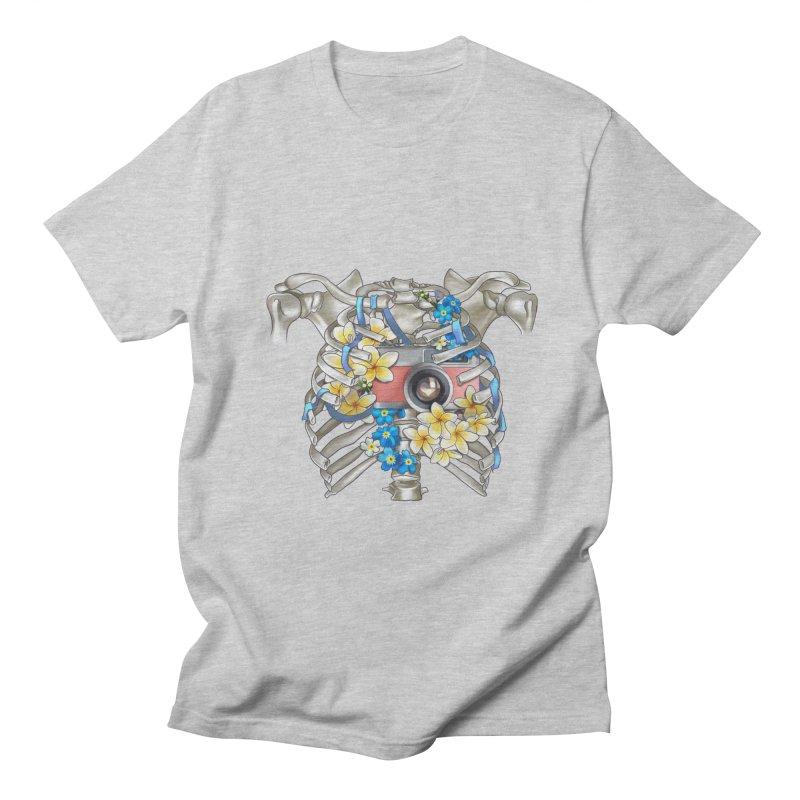 Skeleton_artwork Men's T-Shirt by gabifaveri's Artist Shop
